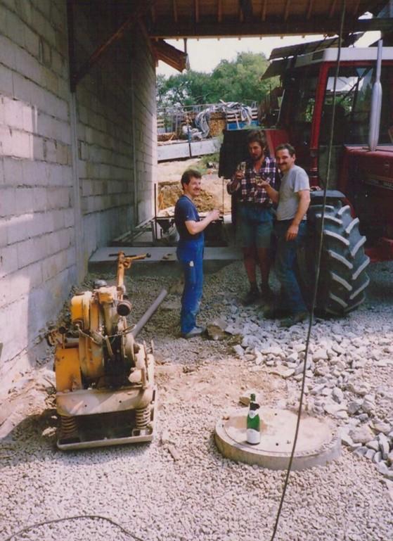 1990 – 1. Getreideannahme